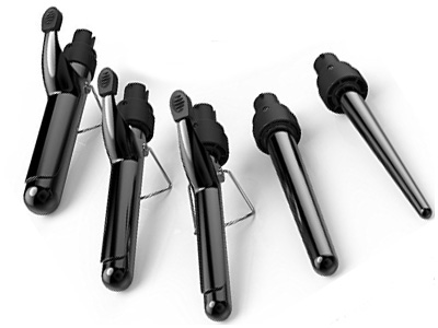 xtava 5 in 1 Curling Wand Set