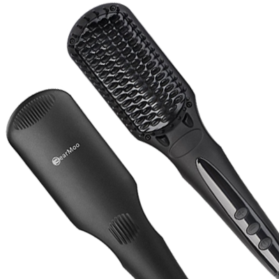BearMoo Best Straightener Brush