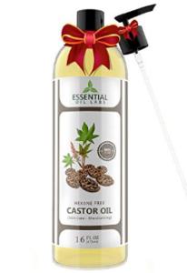 Castor Oil bottle with Premium Pump