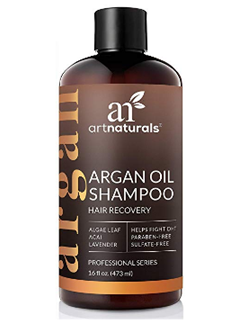 ArtNaturals Argan Oil Shampoo for Hair Regrowth