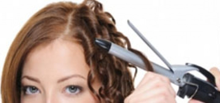 how-to-curl -hair-with-straightener
