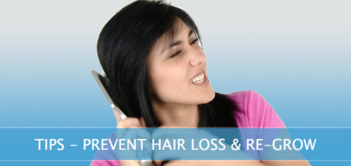 Prevent Hair Loss at Home