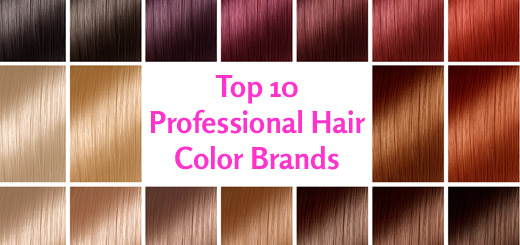 Professional Hair Color Brands in the World