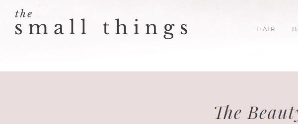 TheSmallThingsBlog